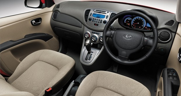 Hyundai i10 Interiors Dashboard
