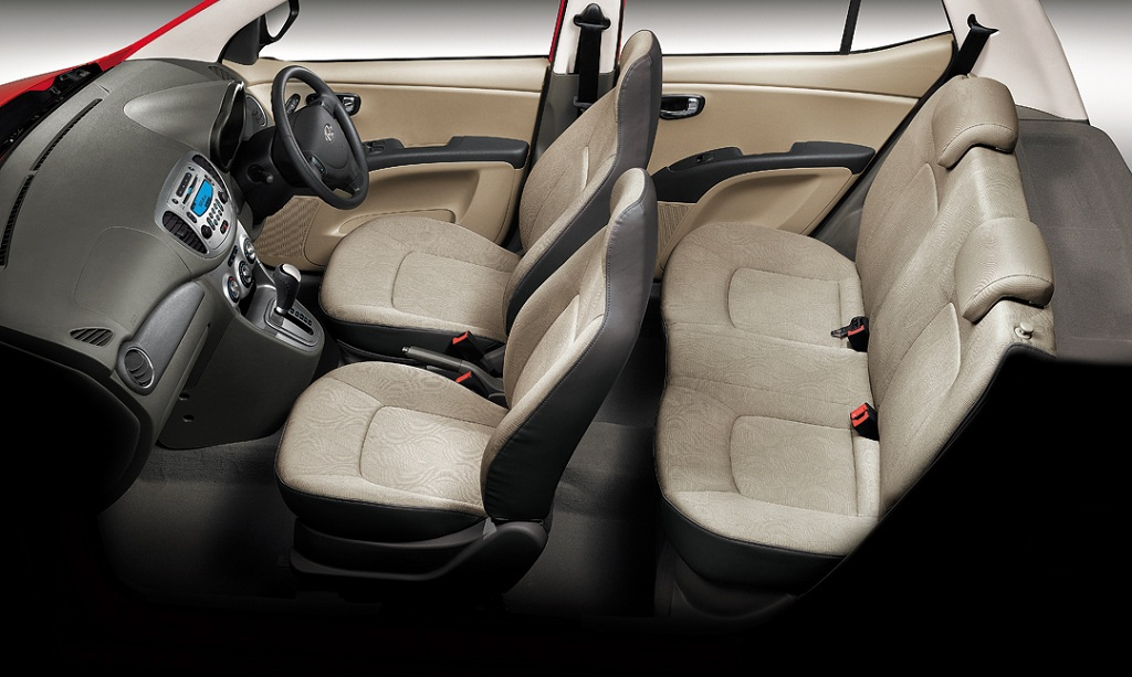 Hyundai i10 Interiors Seats