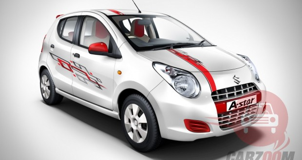 Maruti A-Star Exteriors Top View