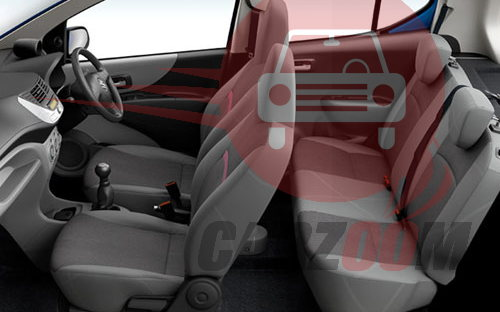 Maruti A-Star Interiors Seats