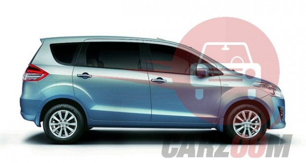 Maruti Ertiga Exteriors Side View