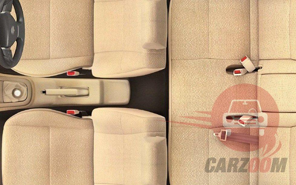 Maruti Suzuki Swift DZire Interiors Seats