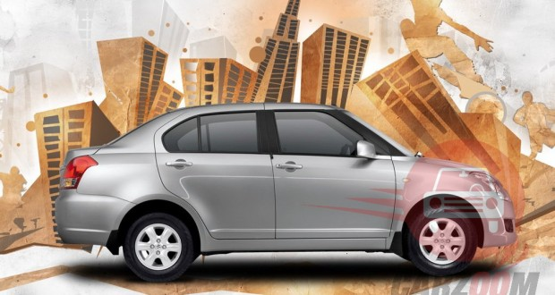 Maruti Swift DZire Exteriors Side View