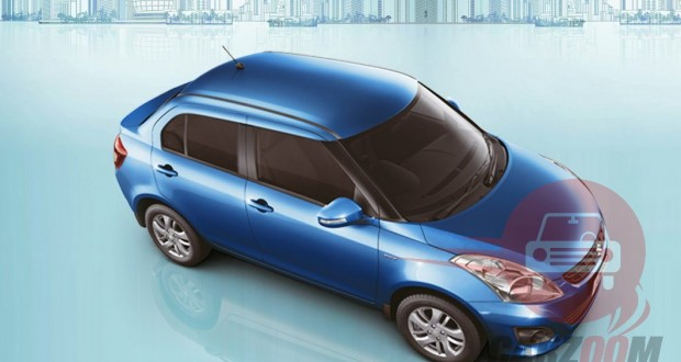 Maruti Swift DZire Exteriors Top View