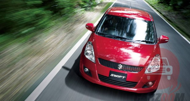 Maruti Swift Exteriors Top View