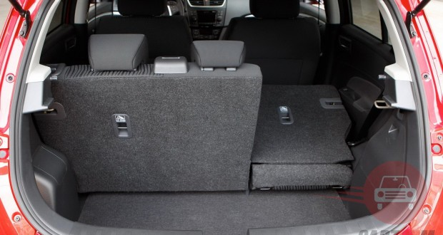 Maruti Swift Interiors Bootspace