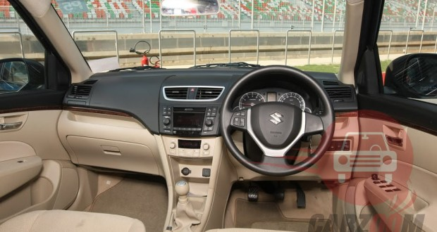 Maruti Swift Interiors Dashboard
