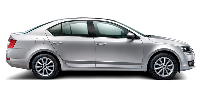 New SKODA Octavia Exteriors Side View