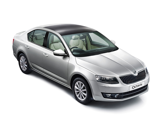New SKODA Octavia Exteriors Top View