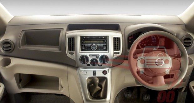Nissan Evalia Interiors Dashboard