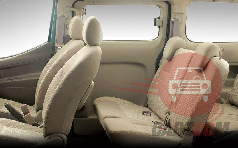 Nissan Evalia Interiors Seats