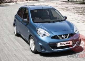 Nissan Micra Exteriors Top View