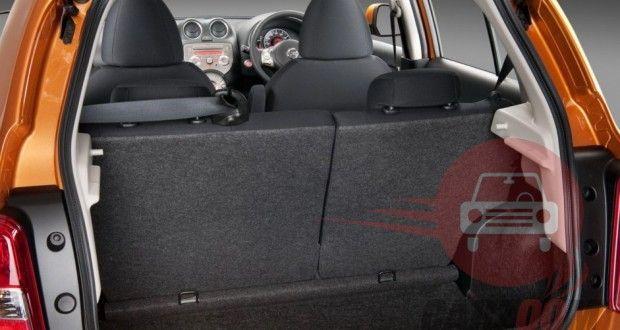 Nissan Micra Interiors Bootspace