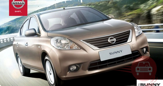 Nissan Sunny Exteriors Front View