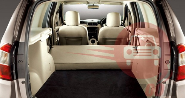 Nissan Terrano Interiors Bootspace View