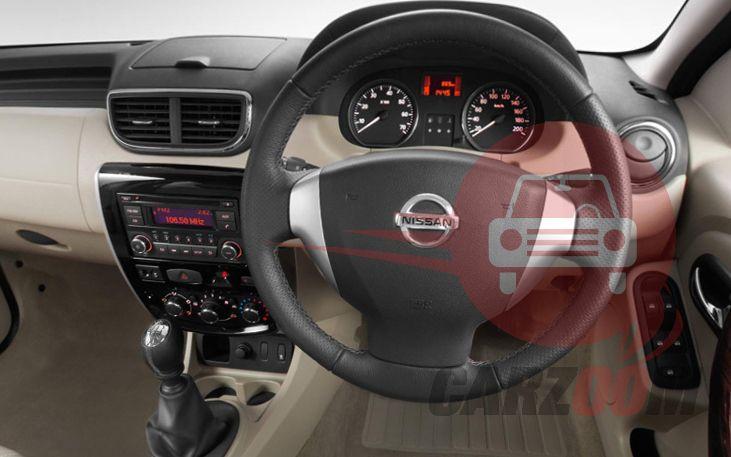 Nissan Terrano Interiors Dashboard Looks