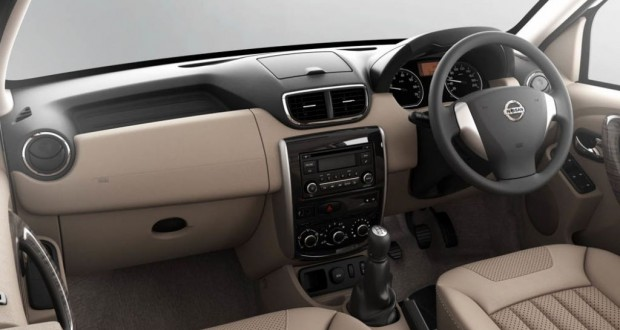 Nissan Terrano Interiors Dashboard