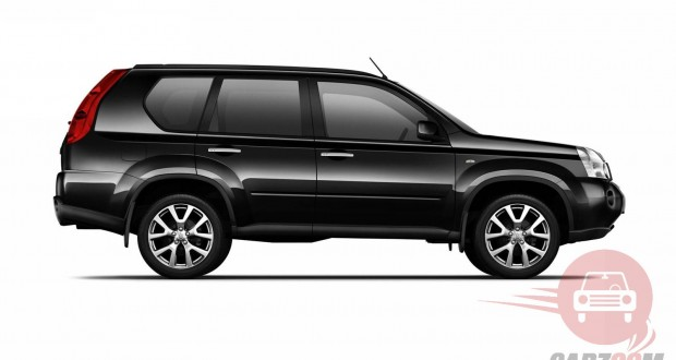 Nissan X Trail Exteriors Side View