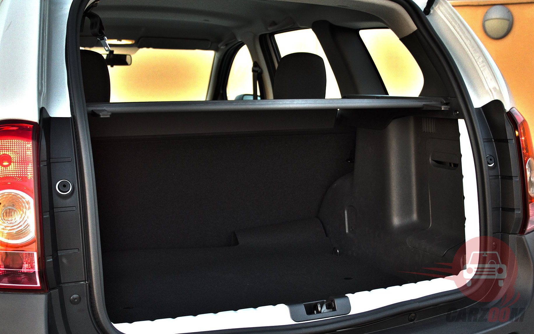 Renault Duster Interiors Bootspace