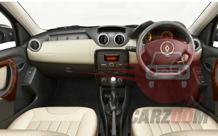 Renault Duster Interiors Dashboard View