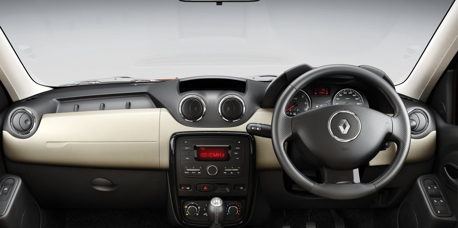 Renault Duster Interiors Dashboard