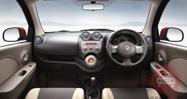 Renault Pulse Interiors Dashboard