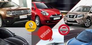 Nissan vs Renault in India