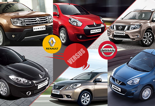 Nissan vs Renault in India