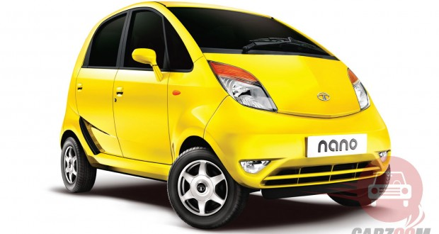 Tata Nano Exteriors Front View
