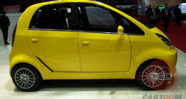 Tata Nano Exteriors Side View