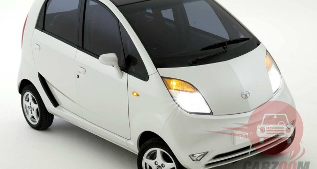 Tata Nano Exteriors Top View