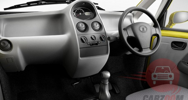 Tata Nano Interiors Dashboard