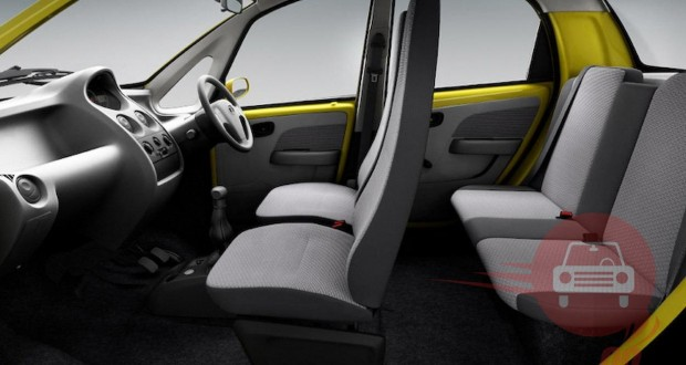 Tata Nano Interiors Seats
