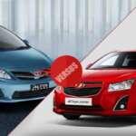 Toyota Corolla Altis vs Chevrolet Cruze