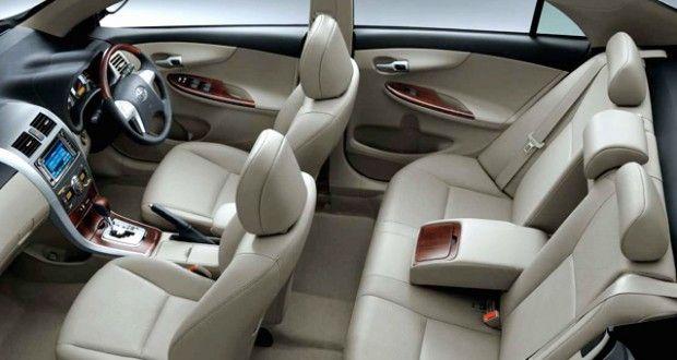 Toyota Corolla Interiors Seats