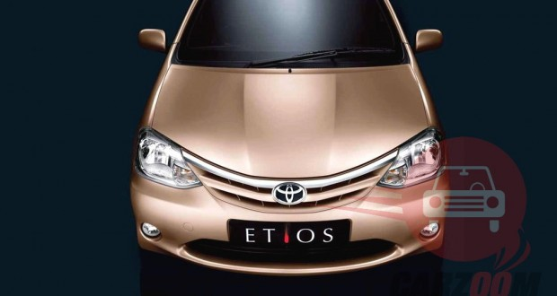 Toyota Etios Exteriors Front View
