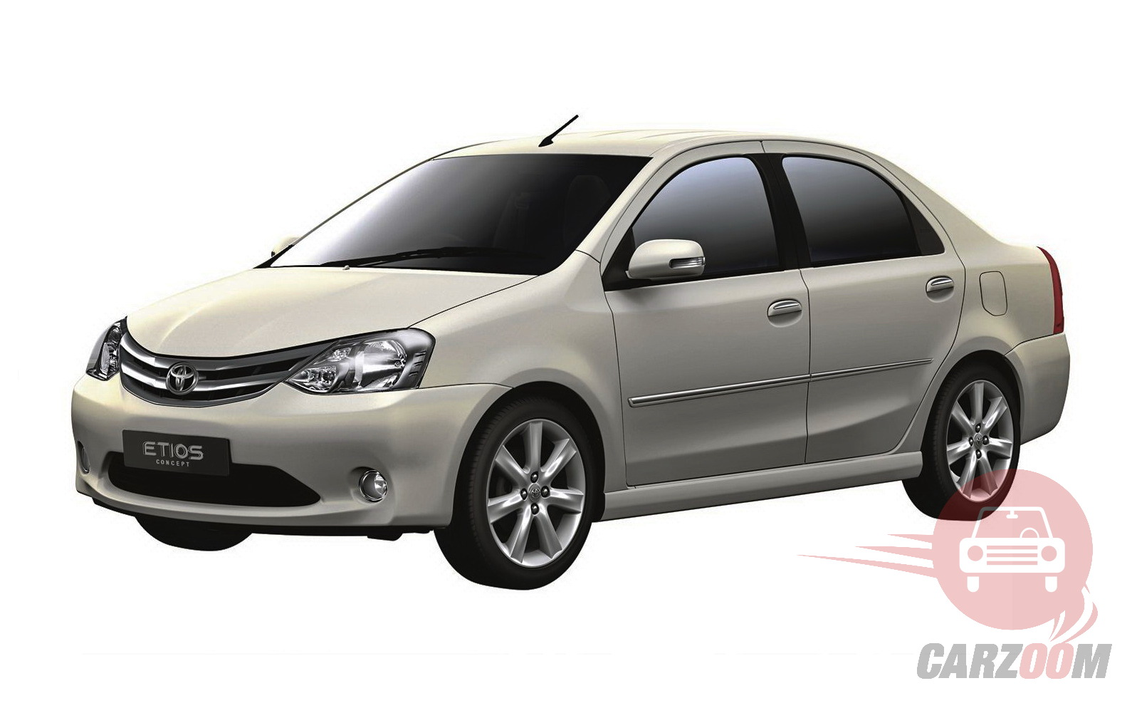 Toyota Etios Exteriors Side View