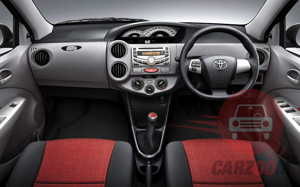 Toyota Etios Interiors Dashboard