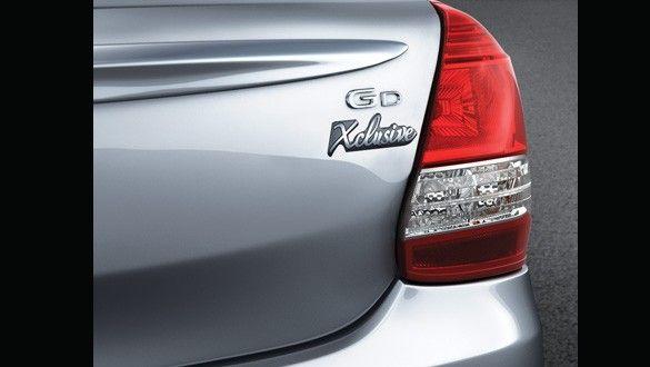 Toyota Etios Xclusive Exteriors Batch