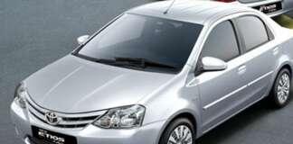 Toyota Etios Xclusive Exteriors Top View