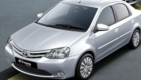 Toyota Etios Xclusive Exteriors Top View
