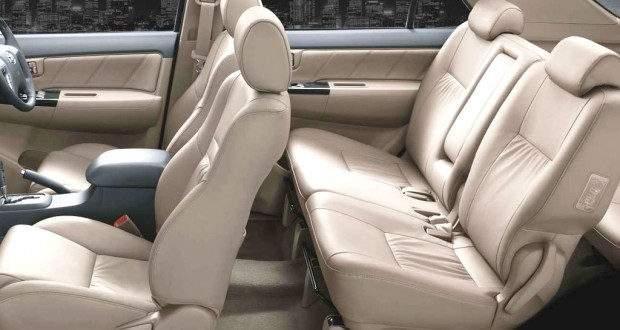 Toyota Fortuner Interiors Seats