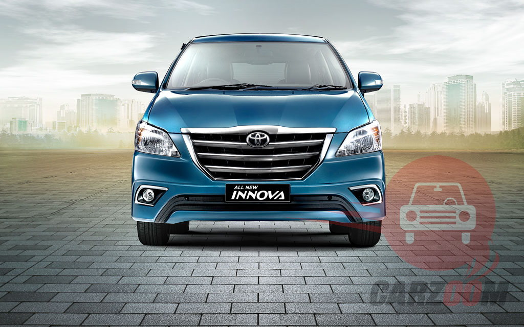 Toyota Innova Facelift Front View