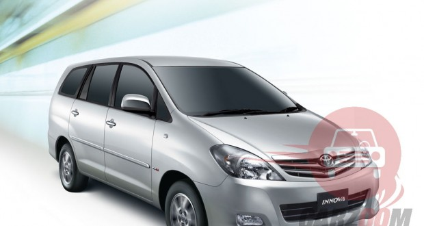 Toyota Innova Exteriors Front View