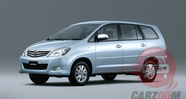Toyota Innova Exteriors Side View