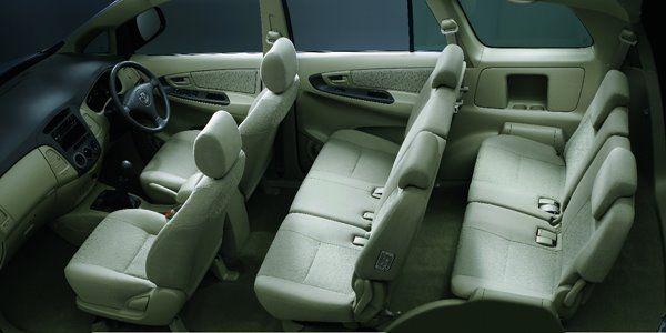 Toyota Innova Interiors Seats