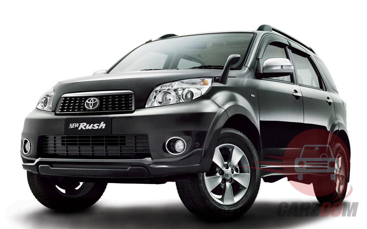 Toyota Rush Exteriors Front View