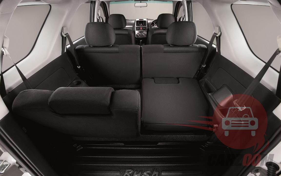 Toyota Rush Interiors Bootspace