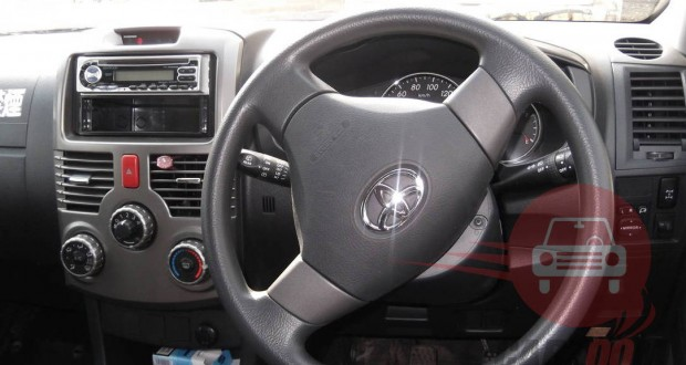Toyota Rush Interiors Dashboard