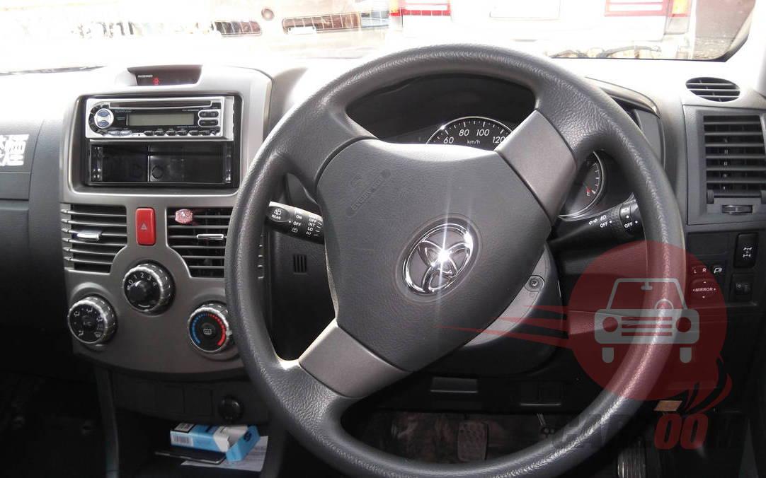 Toyota Rush Interiors Dashboard